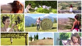 toscano : women living in the countrysides montage