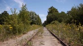 Abandoned old railway