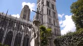 normandia : Cathedral side exterior at Rouen, Normandy France, PAN