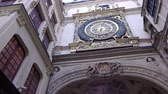 normandia : Historical clock in Rouen, Normandy France, PAN