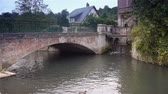 normandiya : Bridge in Broglie, Normandy France