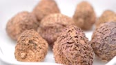 vez : Chinese herb medicine of Amomi Fructus or Villous Amomum Fruit, rotating, close up Vídeos