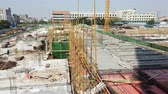 pupa : construction site doing base works