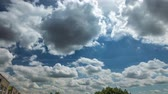 4K Time lapse of beautiful day clouds moving.
