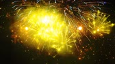 ziyafet : Colorful multiple closeup firework, footage abstract background tv show, intro or opener, christmas theme, holiday, new year party, clubs, event, music clips, advertising. Bright colors salute