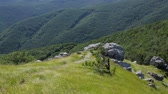 up view : Beautiful landscape in Balkan Mountains