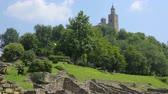 parede de tijolos : Tsarevets fortress of Veliko Tarnovo in northern Bulgaria