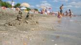 guarda chuva : Summer seaside beach view