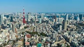 observação : time lapse of Tokyo city, Japan Stock Footage