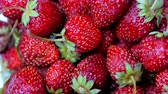 ポスター : Fresh Fruits Appetizing and Beautiful Strawberries as Food Background. Organic Healthy Ripe Strawberry Nutrition.