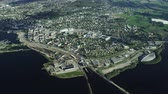 noruega : South Norwegian city Hamar in Oppland