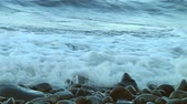 indonesia : Rocky beach in Bali, Indonesia Stock Footage