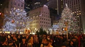 yeni : Christmas Tree in Rockefeller Manhattan New York