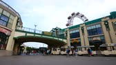 barok : Vienna, Austria, Prater the entrance to the amusement park Wideo