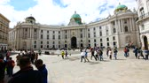 barok : Vienna, Austria, view of Michaelerplatz square