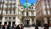 barok : Vienna, Austria, view of saint Peter catholic church