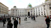 barok : Vienna, Austria, pan of Michaelerplatz square