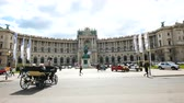barok : Vienna, Austria, view of the Hofburg palace