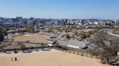 крыша : View of Himeji castle from the top