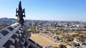 kansai : View of Himeji castle from the top
