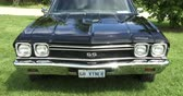 chassis : Chevrolet SS 30 el Camino at Guelph classic car show on August 24, 2014 in Guelph, Ontario, Canada