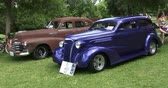 chassis : Old vintage cars at Guelph classic car show on August 24, 2014 in Guelph, Ontario, Canada