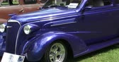 chassis : Old vintage car at Guelph classic car show on August 24, 2014 in Guelph, Ontario, Canada