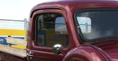 chassis : Chevrolet truck at Guelph classic car show on August 24, 2014 in Guelph, Ontario, Canada Stock Footage