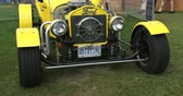 chassis : Old vintage Ford at Guelph classic car show on August 24, 2014 in Guelph, Ontario, Canada