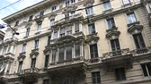 article : Old building in the main street in downtown Genoa, Italy
