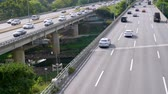 Traffic at Seoul City, South Korea. Stock Footage