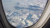 View from intercontinental airplane porthole