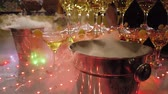 flauto : Cold smoke for champagne. Bucket for champagne. Bucket of smoke. Alcohol attribute. Champagne at the party. Festive alcohol. Corporate booze. Holiday Fun is in the company. Service Nitrogen.