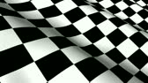 wiederholung : Checkered Racing Flag - Seamless Looping Stock Footage