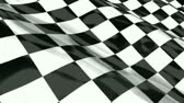 Checkered racing flag - seamless looping Stock Footage