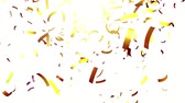 decor : Gold confetti