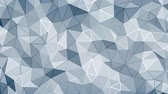 facet : Abstract 3d geometric faceted background animation Stock Footage