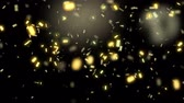 Animation of falling down confetti Stock Footage