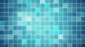 Abstract animated mosaic background, seamless loop