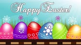 vysokorychlostní : Happy Easter Eggs video clip footage