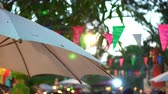 lanna : Chiang Mai Classic Style Evening Festival Thailand Lights And Umbrella