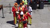 festa della musica : Cape Town, South Africa - 1 jan 2019: Africa musician band playing for tourist