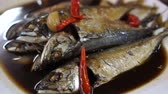 caña de azucar : Thai Mackerel With Sweet Black Sauce Thai Food Dish