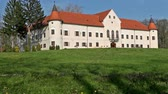median : Luznica - a baroque manor located just 20 kilometers west of Zagreb, the capital of Croatia