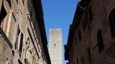 toscano : San Gimignano, a medieval town, famous for the towers