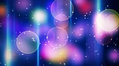 glow : twitching bokeh lights. computer generated seamless loop abstract motion background