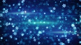 glow snowflakes falling seamless loop animation 4k 4096x2304