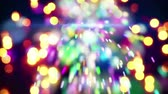 bright night lights : christmas sparkler and lights loopable animation 4k 4096x2304 Stock Footage