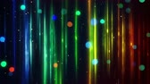 light : blurred vertical lines and bokeh. Computer generated seamless loop abstract motion background. 4k 4096x2304