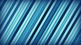 inclinado : Blue extruded lines. Geometric 3D render animation. Computer generated seamless loop abstract background 4k UHD (3840x2160)
